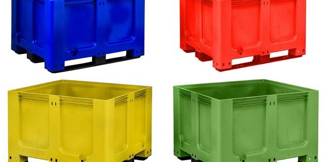 Goplasticpallets.com GoBox 1210 BBCJ rigid pallet box