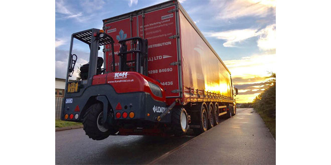 K & H Haulage choose Loadmac truck mounted forklifts to meet increased demand