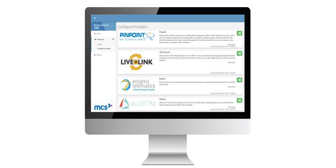 MCS provides a universal Telematics Hub for rental companies using MCS-rm