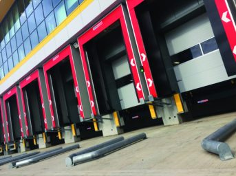 STERTIL DOCK PRODUCTS LAUNCHES COLOURED DOCK SHELTERS 1