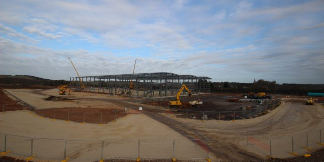 milestone reached for 150000 sq ft speculative development in Doncaster