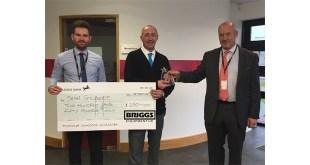 The FLTA awards prestigious title to former fork lift driver