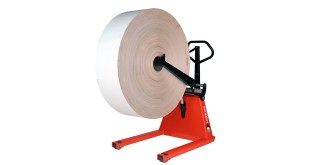 foil reels paper reels or cylinders are to be positioned in unwinders or packing and production machines