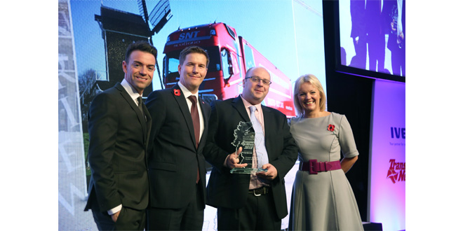 Lanarkshire transport companyStuart Nicol Transport wins top industry award