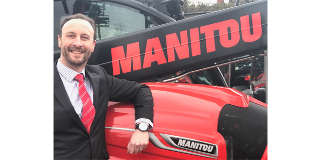 Newly appointed MD Mark Ormond for Manitou UK LTD