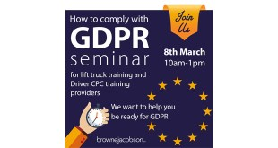 RTITB Event to Help Training Providers Comply with New Data Protection Law