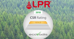EcoVadis LPR is recognised once again for its commitment to CSR