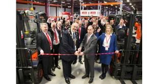 Global forklift truck provider Linde Material Handling opens new Northampton depot