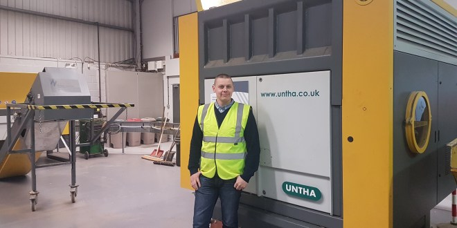 New service manager appointed at industrial shredding specialist UNTHA