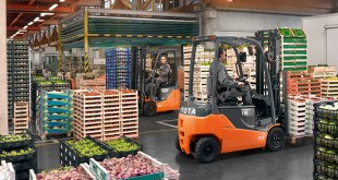 Toyota Material Handling supports the food and beverage at Foodex 2018 1