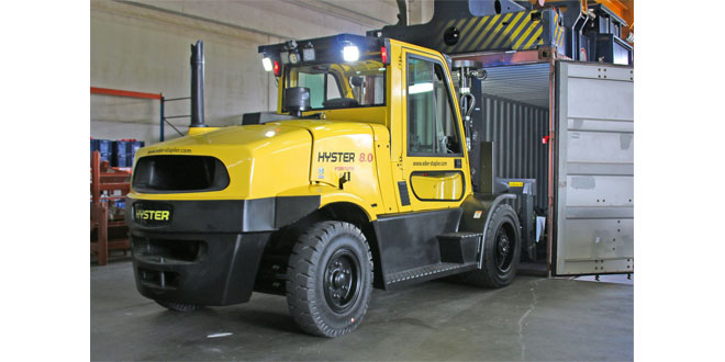 360 DEGREE HYSTER SOLUTIONS OVERCOME INDUSTRY SPECIFIC CHALLENGES