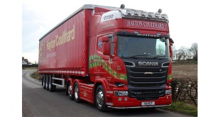 HAYTON COULTHARD SCOTTISH HAULAGE COMPANY OF THE YEAR 2017 TURNS TO TIGER TRAILERS F