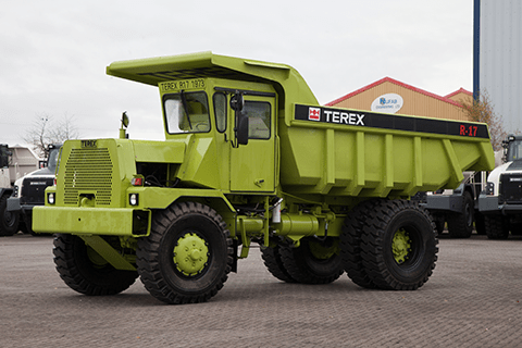 The 40-year-old R17 hauler represents both the history and evolution of Terex Trucks