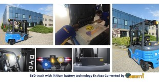 THE FIRST EXPLOSION PROOF ATEX TRUCK