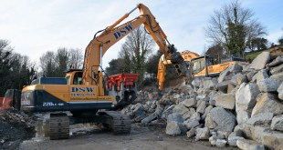 Hyundai help DWS build new Cornish demolition business
