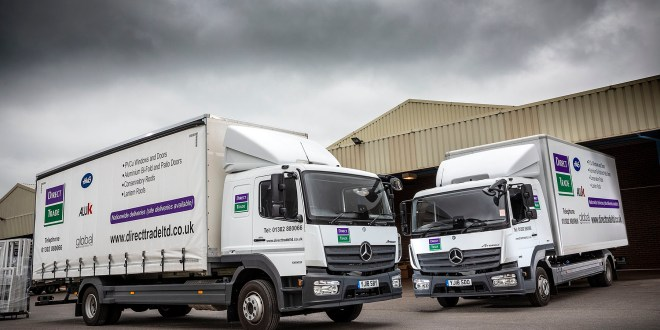Economical Mercedes-Benz Atego is a clear winner for Direct Trade