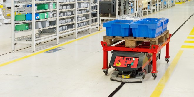Linde Material Handling launches automated guided cart