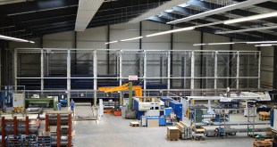AUTOMATIC STORAGE SYSTEM ENSURES EFFICIENT SHEET METAL PROCESSING