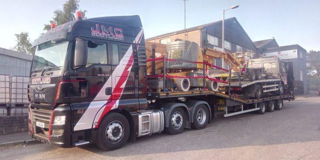 CARTWRIGHT BUILD NEW MACHINE CARRIER FOR JMC SCOTLAND