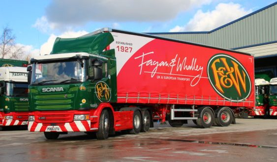 FAGAN & WHALLEY SELECTS MICROLISE TELEMATICS AND CAMERAS FOLLOWING EXTENSIVE TRIALS