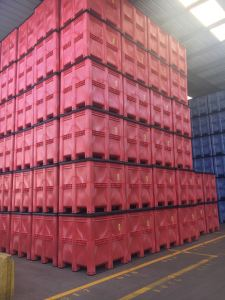GA ordered 19750 of the plastic pallet boxes in three different colours together the boxes offer
