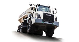 Upgraded Terex Trucks TA300 offers 5 percent fuel efficiency improvement