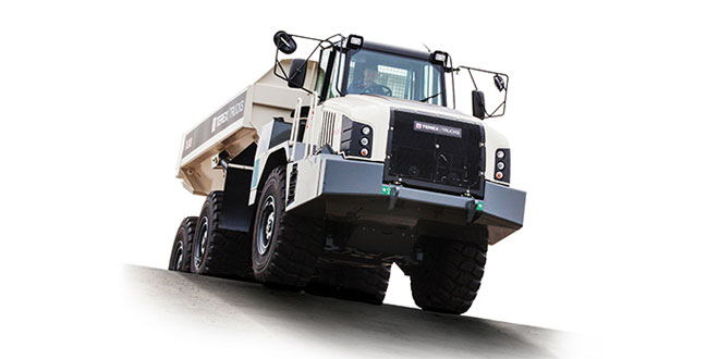 Upgraded Terex Trucks TA300 offers 5 percent fuel efficiency improvement