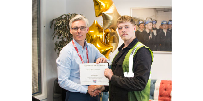 CARTWRIGHT HOLDS GRADUATION AND AWARDS CEREMONY FOR