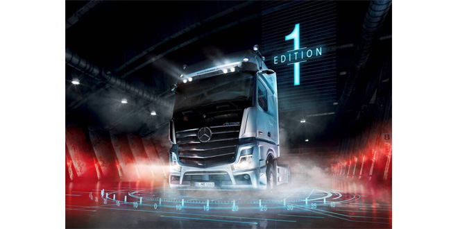 "Mercedes-Benz Trucks unveils the Actros ""Edition 1"""