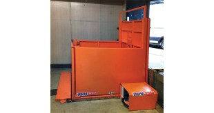STERTIL SCISSOR LIFT ENSURES SAFETY IN CONFINED SPACE