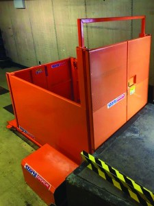 Stertil Dock Products has designed manufactured and installed scissor lift