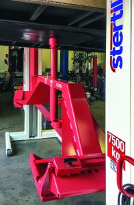 Stertil Koni wireless mobile column lifts