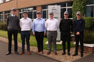 VOLVO MOTHERWELL WELCOMES SIX NEW APPRENTICES