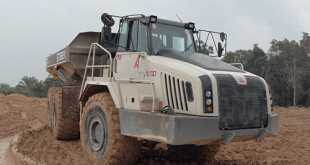 27 TA400s terex trucks mine tin in Indonesia
