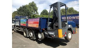 Frank Key boost delivery operations with new Loadmac truck mounted forklift