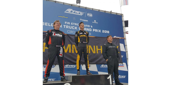 Giti Tire sponsored Team Oliver Racing secures three one-two finishes at Zolder meet