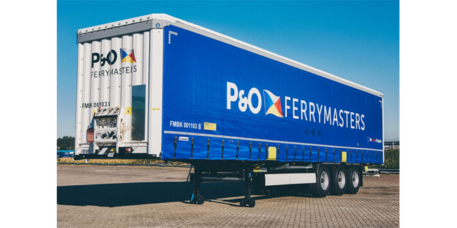 P&O FERRYMASTERS INVESTS IN 150 NEW HUCKEPACK TRAILERS