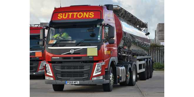SUTTONS TANKERS SECURES NEW MULTI-MILLION POUND CONTRACT