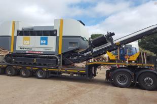 UNTHA Shredding investment decarbonises pioneering biomass operation