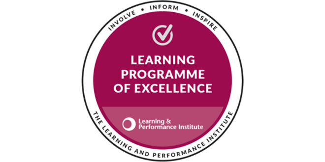 Brambles Commercial Academy recognised by the Learning & Performance Institute