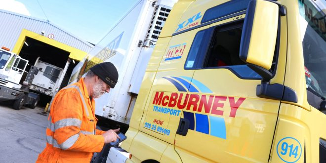 McBurney Introduces Freeway Fleet Systems Software to Manage 1400 Strong Fleet