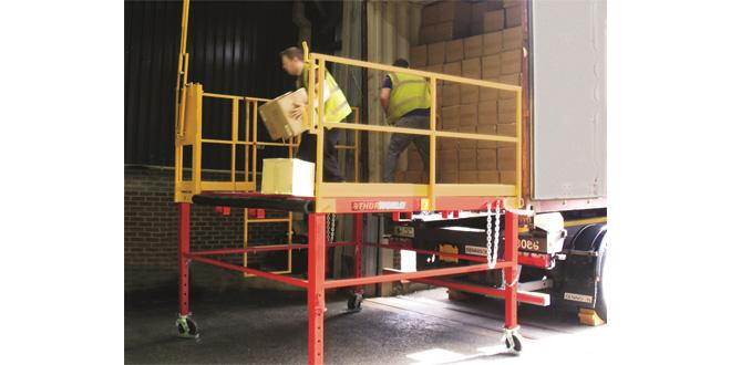 Thorworld makes spotless job of supplying loading platforms for Robert Scott