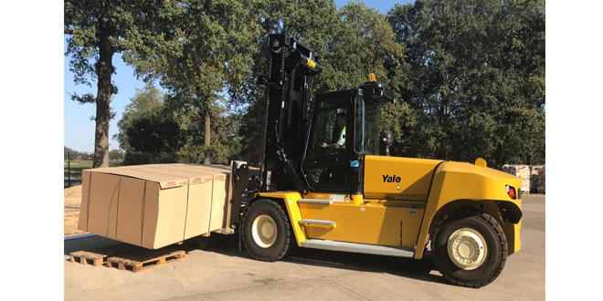 Yale Europe materials handlingreveals its highest capacity truck to date 1