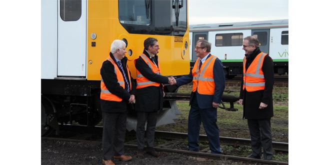 Hoppecke secures Vivarail deal for UKs first battery powered passenger train