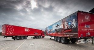 TIP works with Krone for European steel transport solution