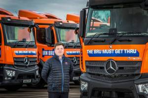 AG Barr Transport Manager Gary Campbell