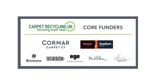 Carpet Recycling UK landfill diversion of carpet waste rises