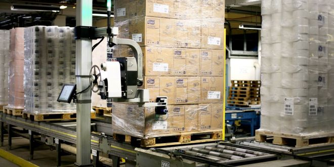 ILS SHOWCASING PALLET LABELLING SYSTEM FOR BEATING THE COLD