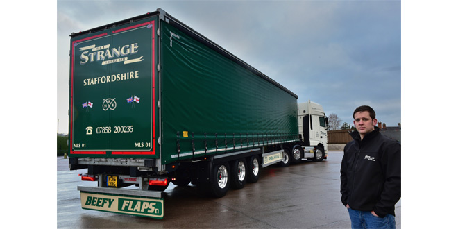 M&L STRANGE HAULAGE CHOOSE A CARTWRIGHT TRAILER FOR EXCEPTIONAL BUILD QUALITY