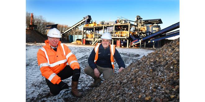Scott Bros invests 1m GBP in urban quarry wash plant